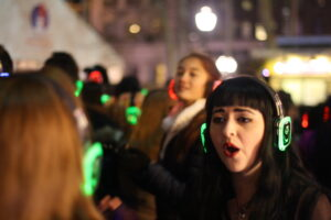'Silent Disco' at Bryant Park