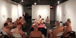 Naked but not afraid: Men's Nudist Drawing Group NY