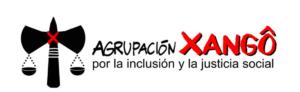 The banner for Agrupación Xangô.