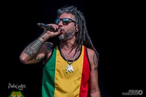 Argentine Reggae singer Blackdali.