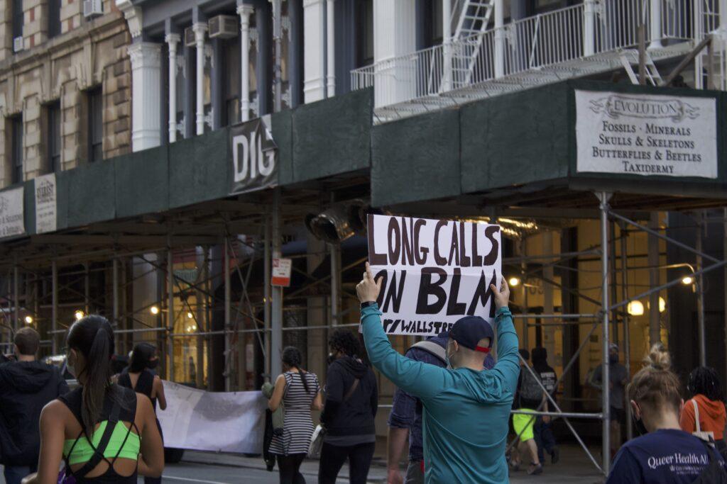 Protestor BLM