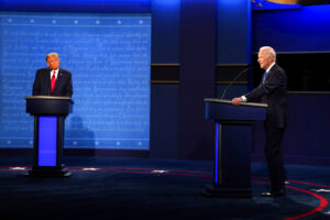 Biden Trump Debate, Source AP Images
