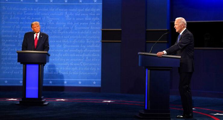 Biden Trump Debate, Source AP Images
