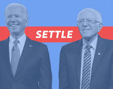 A campaign ad from Settle for Biden, a progressive grassroots organization of former Sens. Bernie Sanders and Elizabeth Warren supporters.