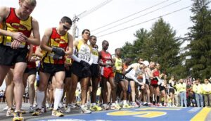 Boston Marathon Men's Elite Runners