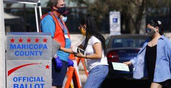 Election 2020 Arizona Voting