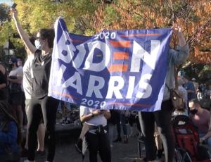 Andrea Pineda Biden Wins